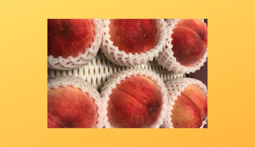 桃の季節を楽しんでいました(2019)
